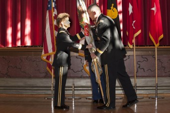 Holland receives assumes command of the U.S. Corps