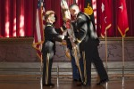 Holland receives assumes command of the U.S. Corps of Cadets