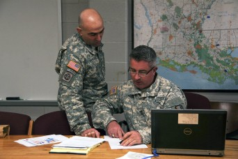 Louisiana Guard prepares for winter flooding