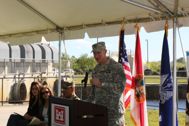 The U.S. Army Corps of Engineers, alongside federal, state and local officials, celebrated the start of construction on one of the three remaining contracts for the C-111 South Dade project, an Everglades restoration project in Miami-Dade County.