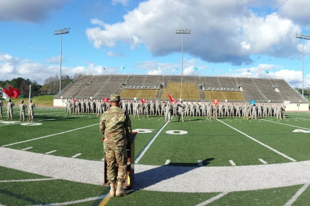 The 30th Armored Brigade Combat Team, had a history making day, here, on Jan. 10, 2016. Old Hickory soldiers were part of a ceremony for the creation/ reorganization of the 30th STB into a brigade engineer battalion; the 236th Brigade Engineer Battalion (BEB).