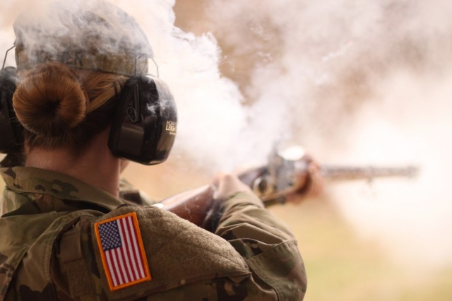 Military History Instructor Course historical weapon range