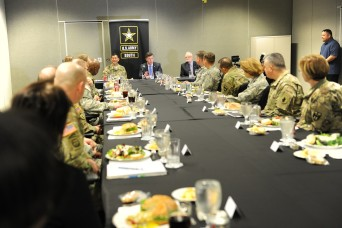 Army South hosts conference with state partners