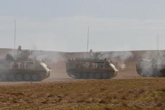 5-4 Cav partners with Jordan's 3rd Mech Brigade, improves interoperability