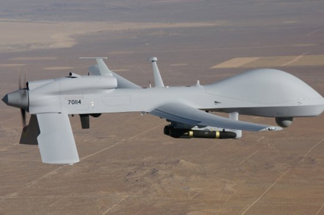 A current MQ-1C Gray Eagle in flight will be replaced the the Improved Gray Eagle by 2018. By 2018, the Army expects to have tested and deployed what is called the Improved Gray Eagle which will first be deployed to U.S. Army Intelligence and Security Command and U.S. Special Operations Command formations. The Improved Gray Eagle will have an extended range configuration for more endurance and will have a larger fuselage to provide more space for sensor operations.