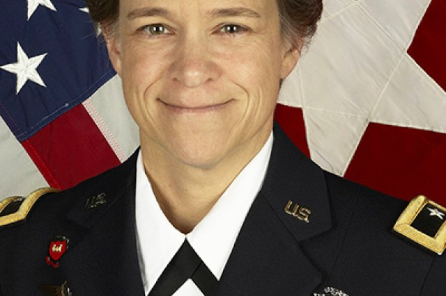 Brig. Gen. Diana Holland the U.S. Military Academy at West Point Commandant of the Corps of Cadets (U.S. Army photo by Department of the Army/released.)