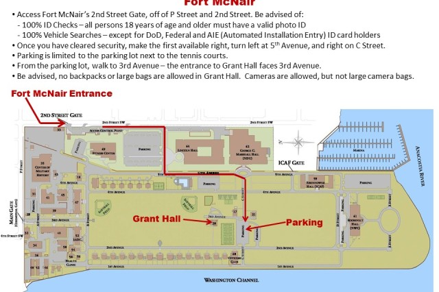 Directions to Grant Hall