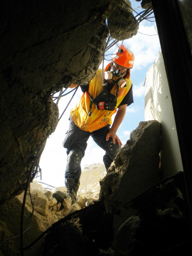 Urban Search and Rescue Program sets up Structures Specialists around the world
