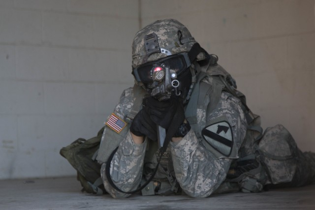 Cav unit conducts urban operations training
