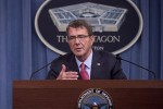 Defense Secretary Ash Carter discusses reforms to his Force of the Future program to improve the quality of life for military personnel during a briefing at the Pentagon, Jan 28, 2016.