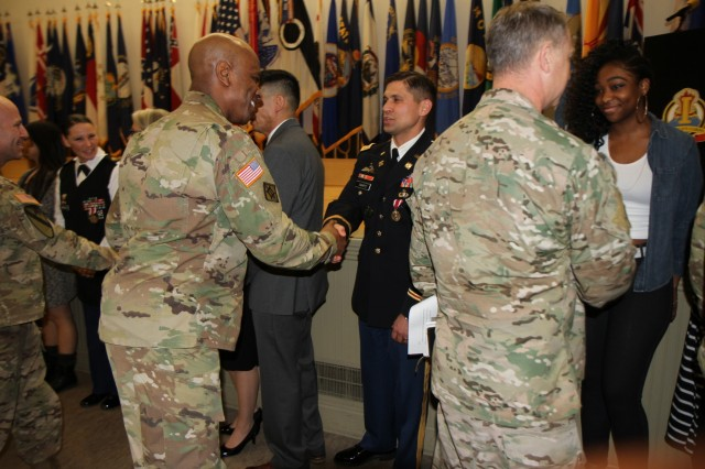 The 7th Infantry Division Soldiers were among those honored during a retirement ceremony held at Joint Base Lewis-McChord, Jan. 29.