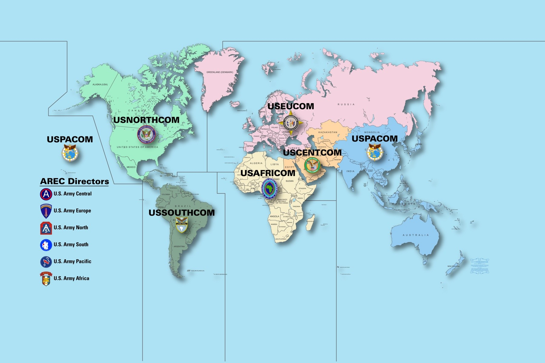 ARECs Ensure US Army Reserve Is Engaged On The World Stage - Us navy reserve component command map