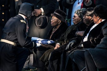 Memorial service for Tuskegee Airmen