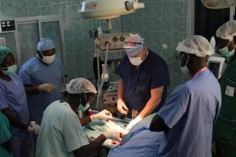 MEDRETE brings U.S. military medical professionals to Senegal