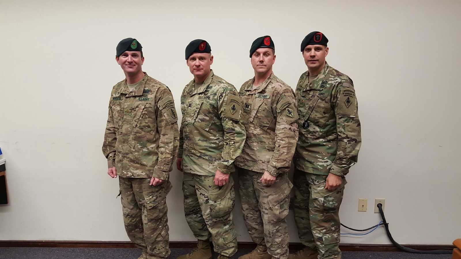 Special Forces Tab Green Beret Sfqc A Vehicle For Chaplains