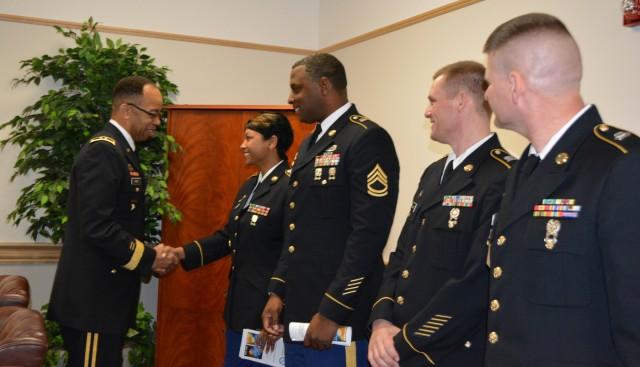 80th TC commander addresses DEOMI graduates