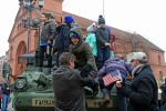 Torun welcomes artillery Soldiers during Dragoon Shock