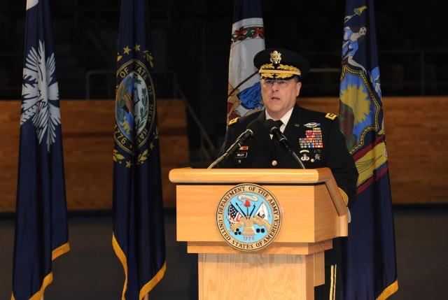 Army surgeon general receives third star