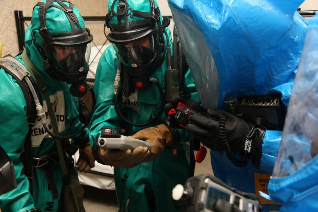 Chemical, biological, radiological, nuclear threats responders work together
