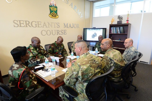 USASMA welcomes Malawi Defence Force delegation