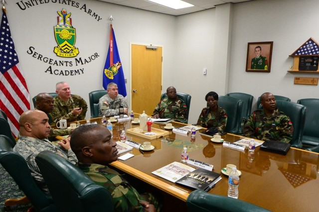 Malawi Armed Forces College visits USASMA