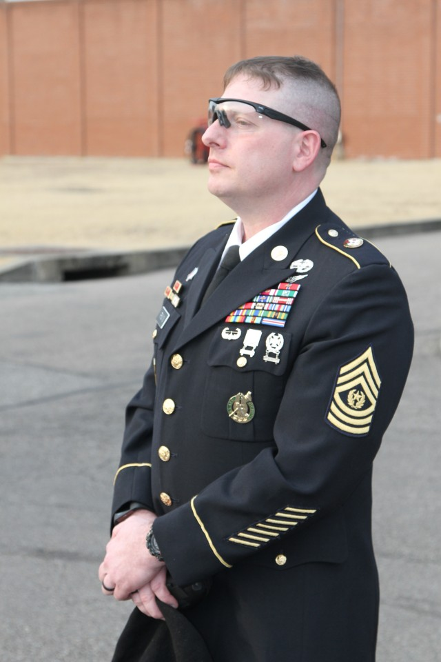 121st Combat Support Hospital Bids Farewell to Senior Leader