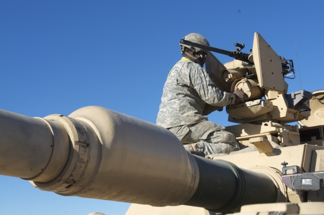 Cavalry 'Chargers' hit the ground running at National Training Center
