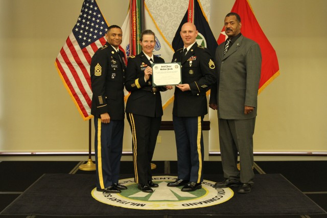 Staff Sgt. Colin Coriell - SDDC Supply and Inventory Management NCO of the Year