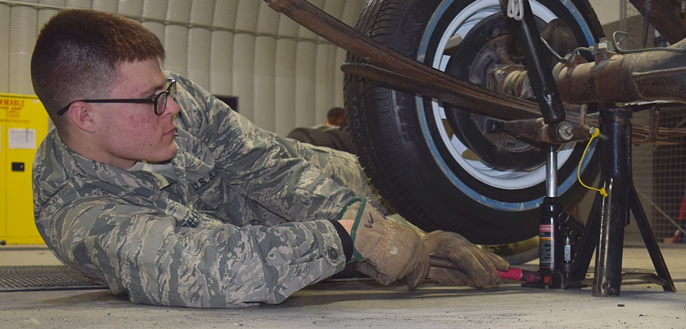 Vehicle operators put Air Force transportation mission into gear ...