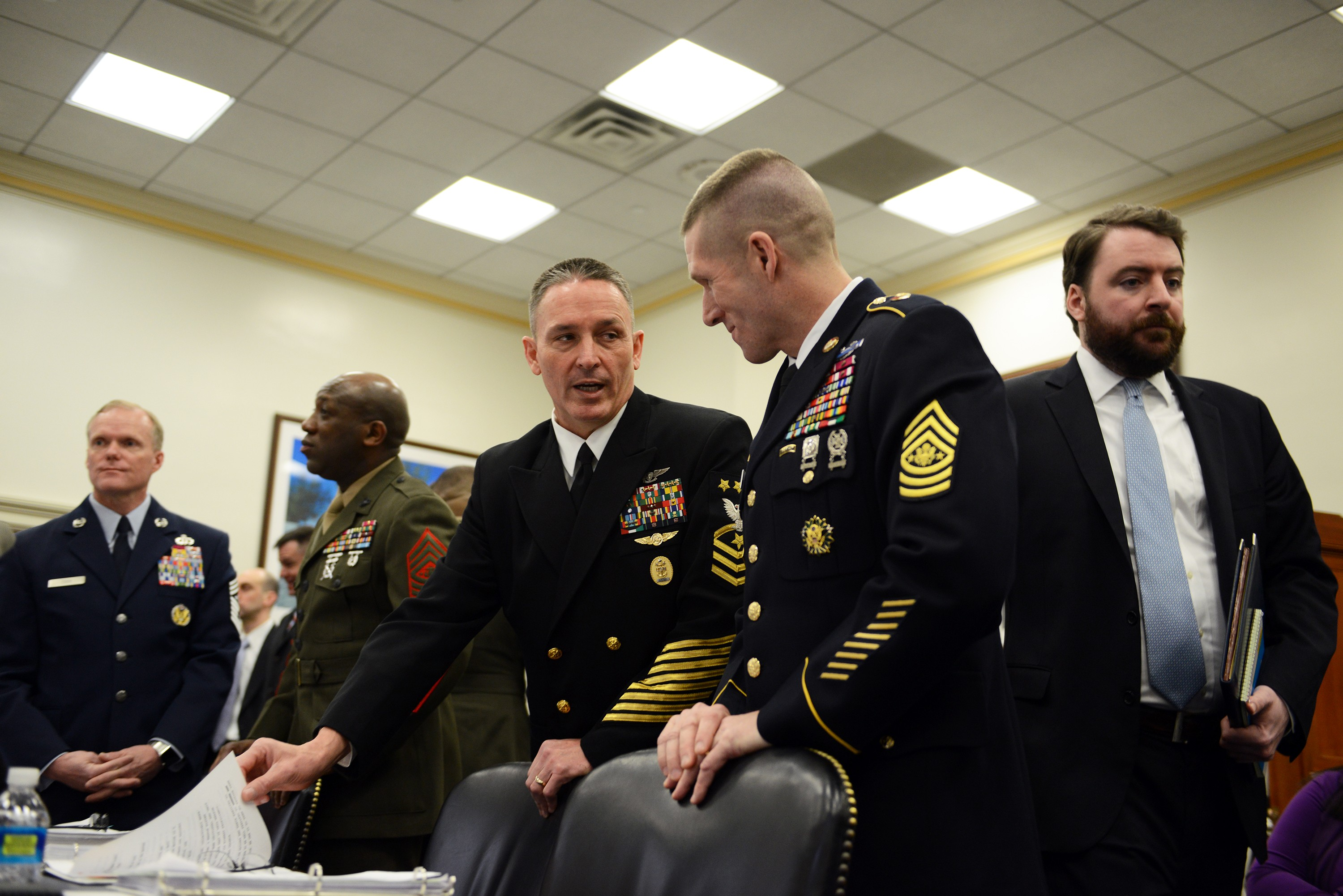 SMA outlines top Army priorities to lawmakers on Capitol Hill