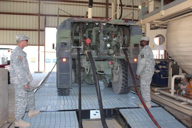 Fort Hood Tanker Purge Facility