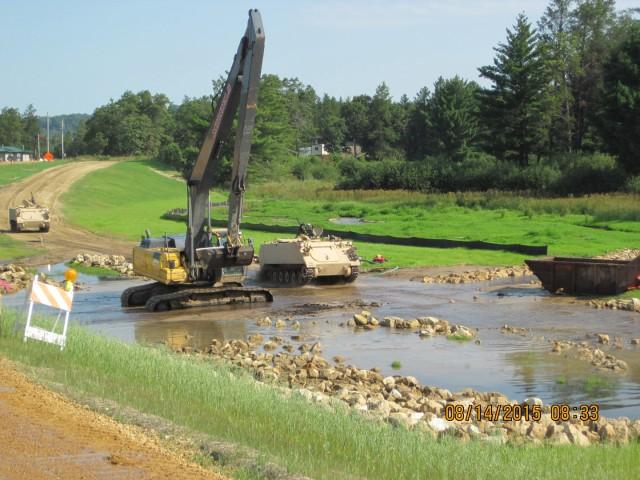 Fort McCoy low water crossing