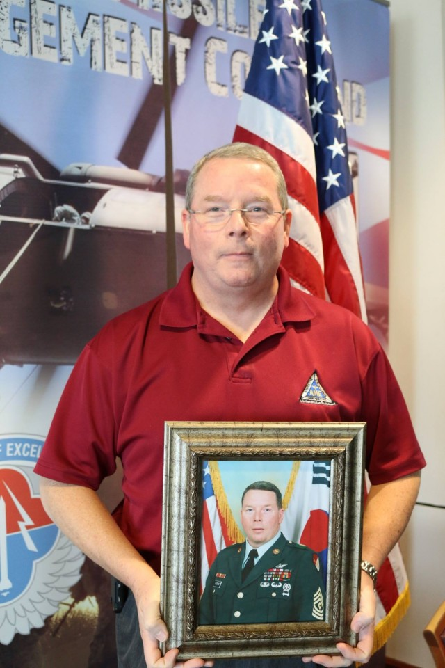 Ret. First Sgt. Michael W. Bateman
