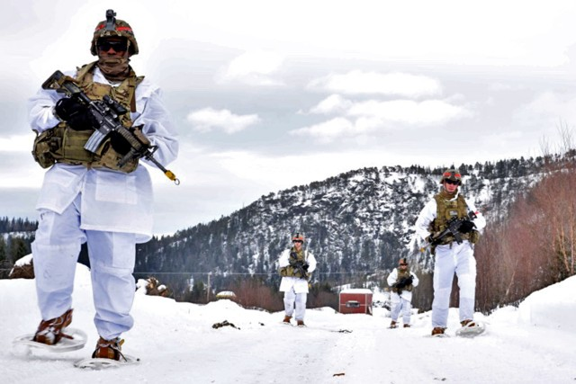 US Army warms up with Norwegian cold weather training exercise