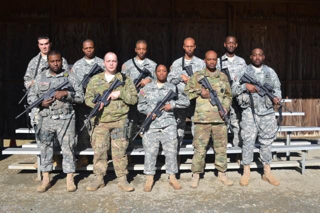 District of Columbia State Marksmanship Competition participants. DC Public Affairs Detachment Army Photo.