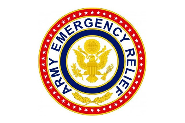 The Army Emergency Relief (AER) logo.