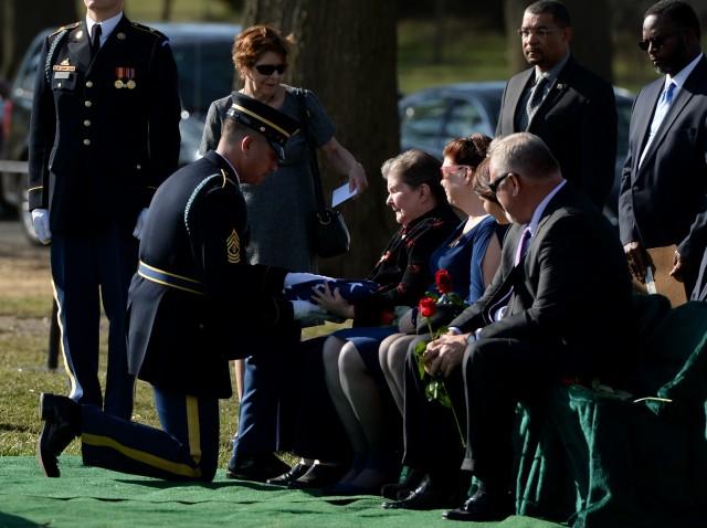 Korean War casualty gets final rest
