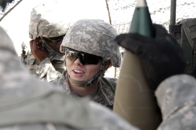Pfc. Katherine Beatty is the U. S. military's first female to become a cannon crewmember. New high physical demands tests were implemented for the last seven ground combat military occupational specialties. Fort Sill is adapting to meet the Soldier 2020 challenge.