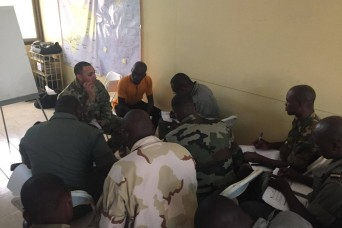 USARAF, Togolese army partner for three-part unit movement course