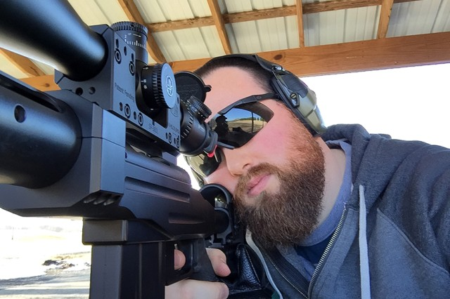 EYE PROTECTION IS IMPORTANT when practicing target shooting, and when hunting.