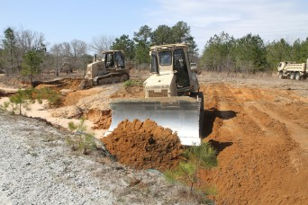 Engineers of the 1st Battalion, Task Force 28th Infantry Regiment, 3rd Brigade Combat Team, 3rd Infantry Division, commenced road repair efforts in Fort Benning's training areas March 3. As a part of the 3rd BCT's two-week long exercise Hammer Focu...