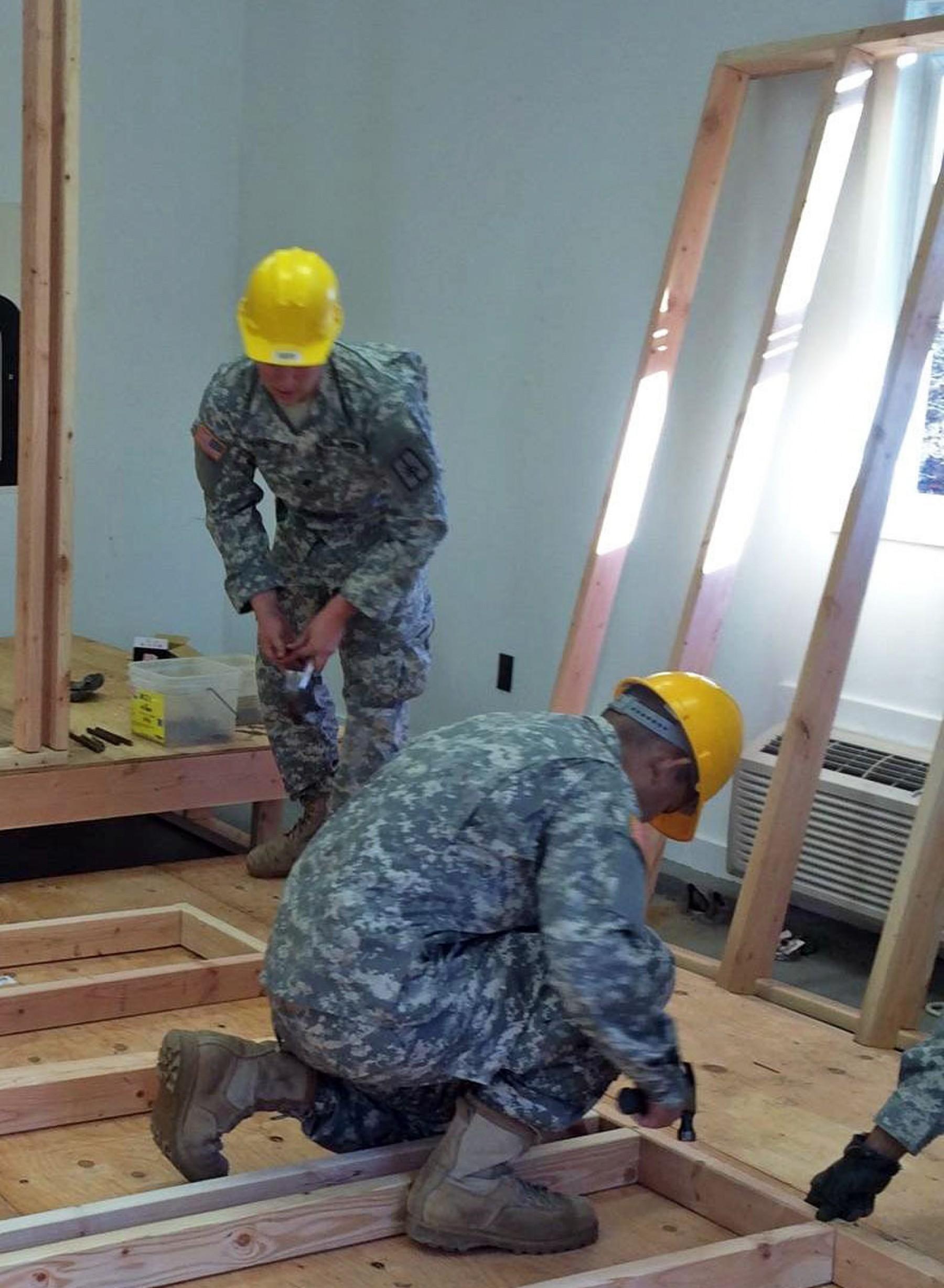 Engineering Space New York Army National Guard Troops Maintain Redstone Wiring Vertical Original