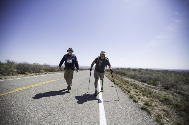 Honoring the Soldiers of the Bataan Memorial Death March