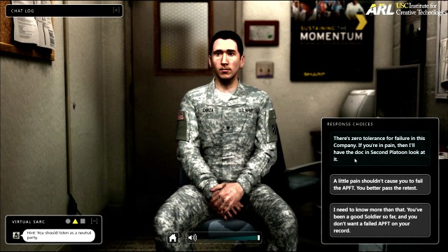 Army debuts new game-based SHARP training tool in April