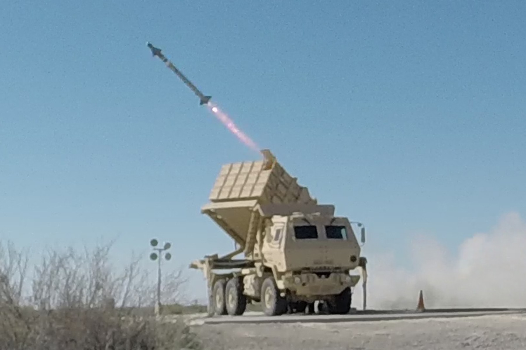 u s army successfully fires aim 9x missile from new