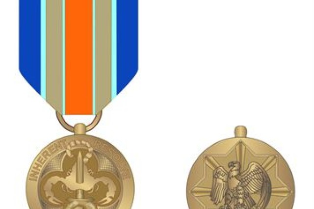 Defense Secretary Ash Carter announced the creation of the Inherent Resolve Campaign Medal, March 30, 2016.