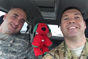HUNTER ARMY AIRFIELD, Ga.- Sometimes the smallest things can mean the world to person. A simple hello, a smile to cheer someone up, a photo of a loved one or a teddy bear.