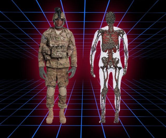 USARIEM creating 3-D Soldier Avatars