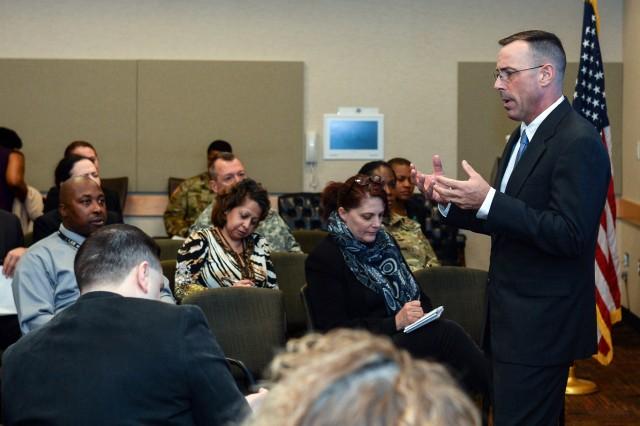 Master Sgt. Jeff Fenlason discusses bystander intervention
