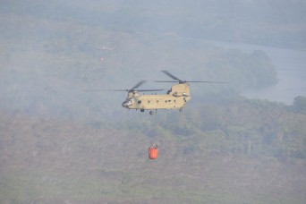 Joint Task Force-Bravo supports Honduran firefighting efforts
